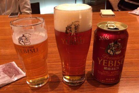 恵比寿ビール記念館ツアー-ビールの試飲