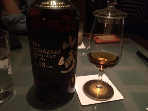 山崎ウイスキー18年の感想レビュー