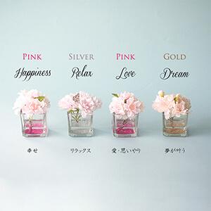 春限定 桜のボックスフラワーギフト-4種類