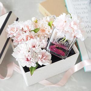 春限定 桜のボックスフラワーギフト