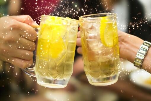 ハイボール-乾杯