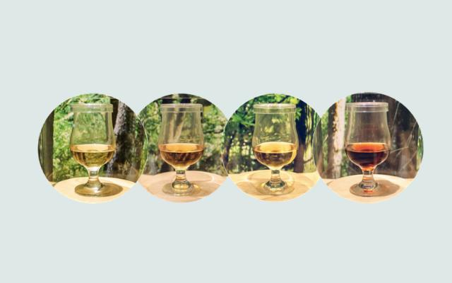 サントリーウイスキー白州の構成原酒